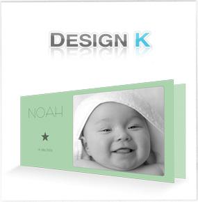 Geburtskarten und Babykarten von DESIGN K
